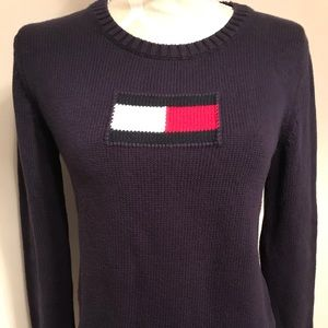 Tommy Hilfiger Cotton Long Sleeve Sweater
